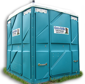 Wheelchair / ADA Portable Restroom Unit from Cans R Us, Inc.