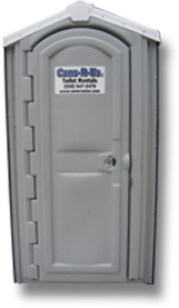 Standard Portable Restroom Unit from Cans R Us, Inc.